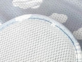 Agibaby 3D Mesh Stroller liner Infant Baby   Cushion  Pad  Seat Insert for Carseat  stars  stars not clouds