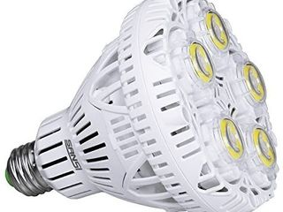 SANSI  Updated  BR30 30W lED light  250 300W Equivalent  5000K Daylight  4000lm Super Bright Bulb  Non Dimmable  CRI80  E26 Base  Floodlight