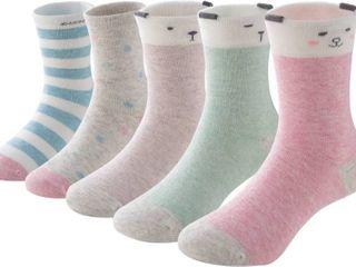 SUNBVE Baby Toddler little Big Girls Boys Cotton Socks size little girl age 5 8