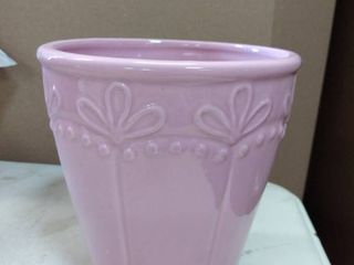 5 7  pinkish french country style planter