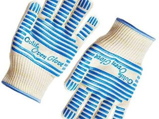 GA1 4life Oven Glove Withstands Heat Up to 662F Over 15S   EN407 Standard level3 BBQ Glove  Gift Packaging  1 Pair