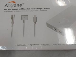 Abyone Slim 85W Ac Adapter USB Traver Charger for Apple MacBook Pro MacBook Air