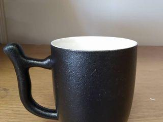 black and white new design coffee mug