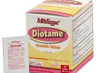Medique 22033 Diotame Tablets  100 Tablets