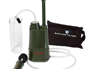 SURVIVOR FIlTER PROa Portable Water Filter Pump