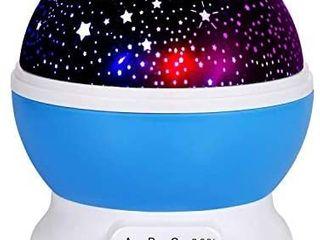 Adoric 361 Night lamp  Star light Rotating Projector  4 lED Bulbs 8 Modes