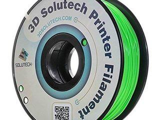 3D Solutech Apple Green 3D Printer PlA Filament 1 75MM Filament  Dimensional Accuracy   0 03 mm  2 2 lBS  1 0KG    100  USA