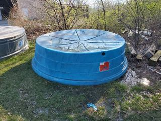 8ft Plastic Stock Tank