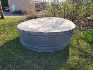 8ft Metal Stock Tank