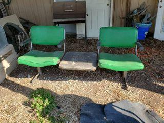 Green Chair Bench