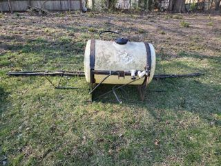 55 Gal Sprayer Tank