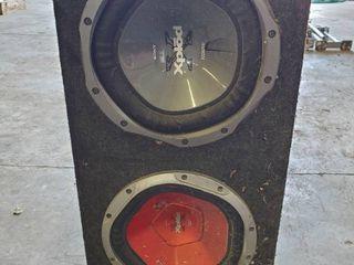 Xplod Sub Speaker Box