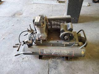 Twin Electric Air Compressor
