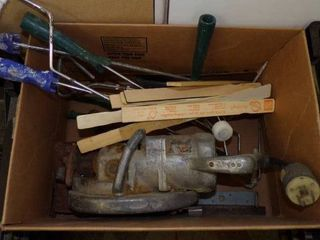 WORMGEAR SAW AND PAINTING EQUIPMENT