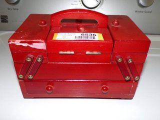 SEWING CABINET JEWElRY BOX
