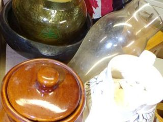 MISC  INClUDING JOHN DEERE APOTHOCARY JAR