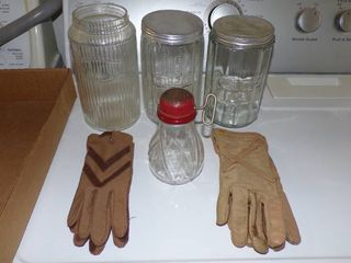 CANISTERS  NUT CHOPPER  GlOVES