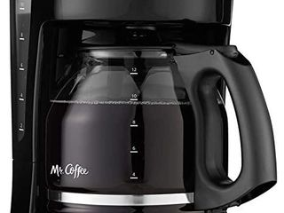 Mr  Coffee 12 Cup Coffee Maker  Black