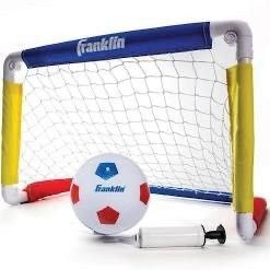 Franklin Kids  24 in x 16 in x 16 in Soccer Goal with Ball and Pump