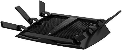 NETGEAR Nighthawk X6 Smart Wi Fi Router  R8000    AC3200 Tri band Wireless Speed  Up to 3200 Mbps    Up to 3500 Sq Ft Coverage   50 Devices   4 x 1G Ethernet and 2 USB ports   Armor Security
