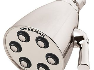 Speakman S 2252 PN E2 Signature Brass Icon Anystream Adjustable Shower Head  Polished Nickel
