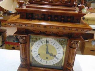 20  Wooden Shelf Clock