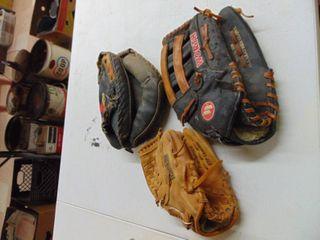 Mizuno  Werth  Franklin ball gloves