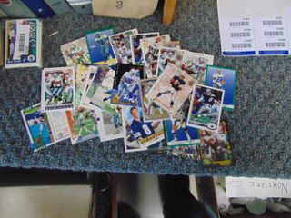 Emmit Smith and Troy Aikman lot of 40