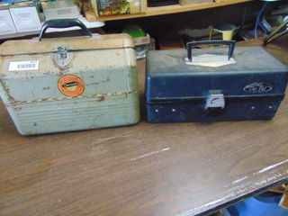 Tackle Boxes lot of 2 and Contents