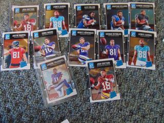 2016 Optic Rated Rookies Football Cards lot of 12
