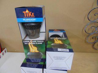 Tiki Island King Torches