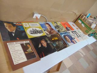 Andy williams  Mel Torme  Glenn Miller and Assorted Jazz Records