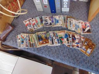 1995 Topps Embossed baseball cards lot of 134 with Stars