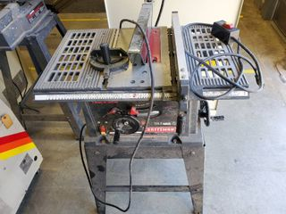 10in Craftsman Table Saw Model 137 221960