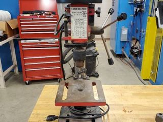 Benchtop 5 Speed Drill Press Model ZJ4113