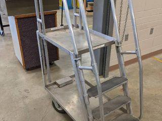Rol Away Aluminum Portal Stair Cart