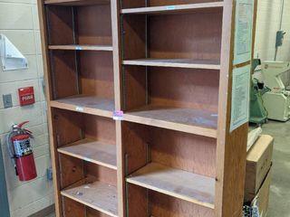 7  Tall 4  Wide Wooden Bookshelf
