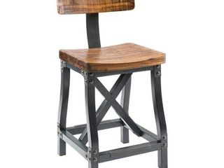 lancaster Counter Stool with Back by INK IVY