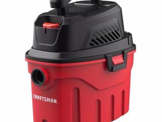 CRAFTSMAN 3 Gallon Portable Wet Dry Shop Vacuum
