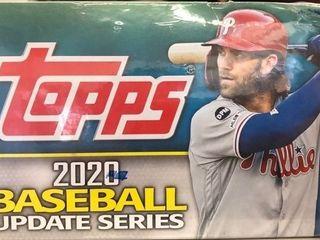 2020 Topps Update Baseball 24ct pack   Retail Box
