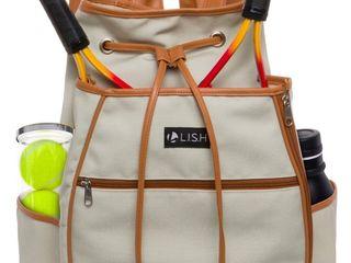 Match Point Canvas Tennis Racket Backpack Solid Drawstring Racquet Holder Bag li