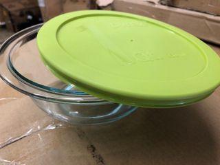 Pyrex 1 qt Glass Bowl w lid