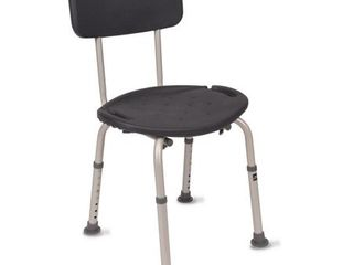 Equate Bath Chair   Shower Seat with Back