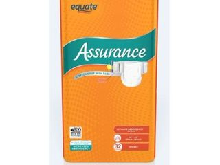 Assurance Incontinence Stretch Briefs With Tabs  Unisex  l Xl  32 Ct