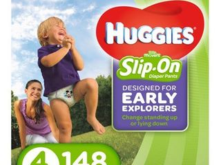 HUGGIES little Movers Slip On Diaper Pants  Choose Size and Count