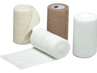 2 Pack   Hartmann Four Press Four layer Compression Bandaging System  latex Free