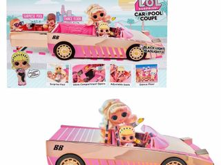 l O l  Surprise  Car Pool Coupe with Exclusive Doll  Surprise Pool and Dance Floor