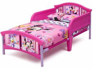Delta Children Disney Minnie Mouse Plastic Toddler Bed  Pink