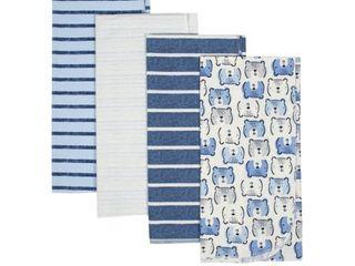 Gerber Baby Boy Organic Flannel Receiving Blankets  4 Pack