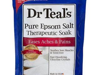 Dr Teal s Pure Epsom Salt Therapeutic Soak  6 lbs